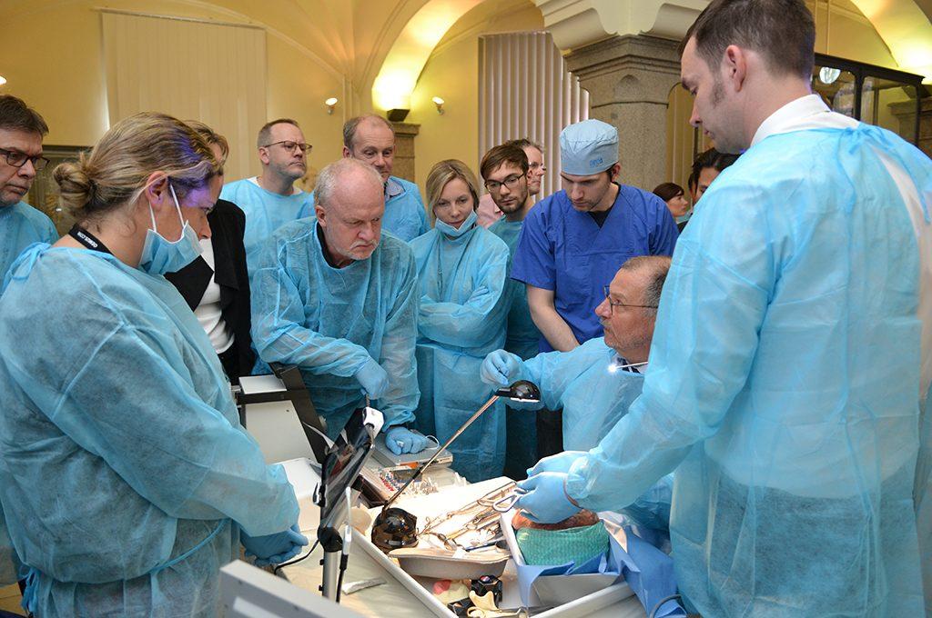 "4. Kursveranstaltung ""Nose, Sinus & Implants"" (Präpariersaal Charité Berlin)"